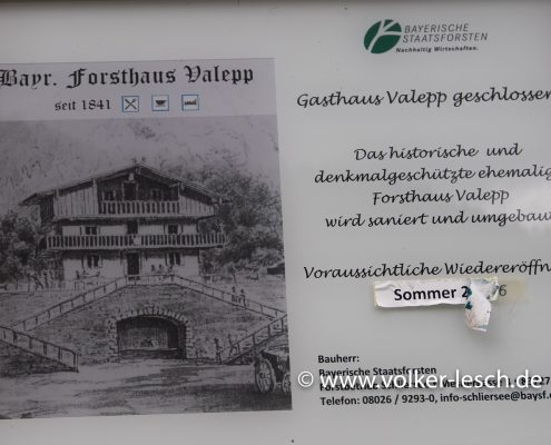 Forsthaus Valepp Spitzingsee Tegernsee © Volker Lesch
