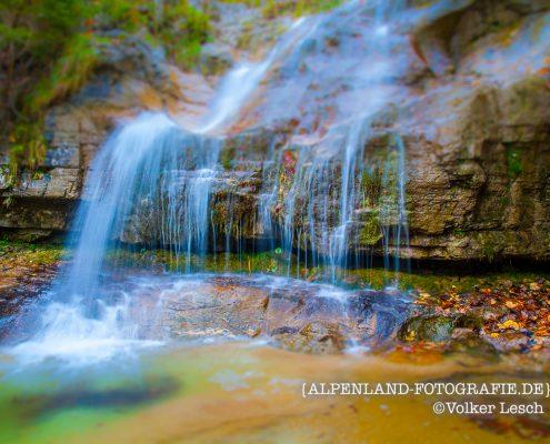 Königssee Königsbach Wasserfall © Volker Lesch