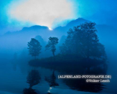 Königssee Morgennebel © Volker Lesch