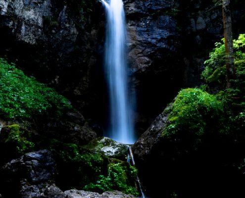 Sibli Wasserfall Tegernsee © Volker Lesch