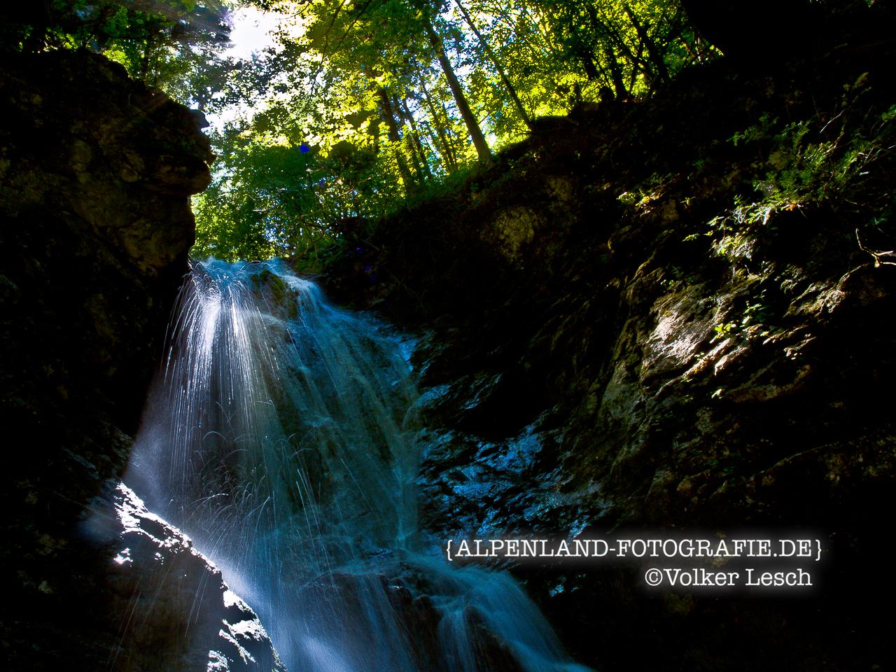 Wolfsschlucht Wasserfälle Inntal © Volker Lesch