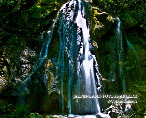 Wolfsschlucht Wasserfälle © Volker Lesch