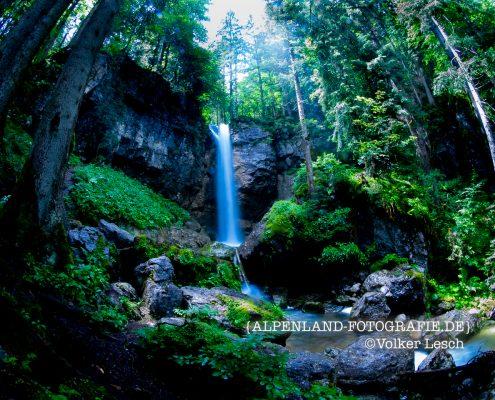 Tegernsee Sibli Wasserfall