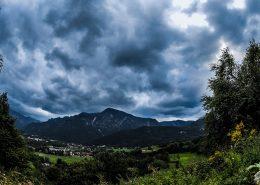 Predigtstuhl Untersberg Zeitraffer Wolken
