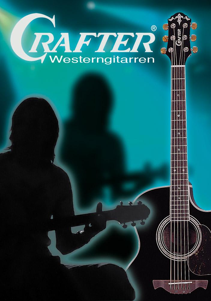 Crafter Gitarren Plakat