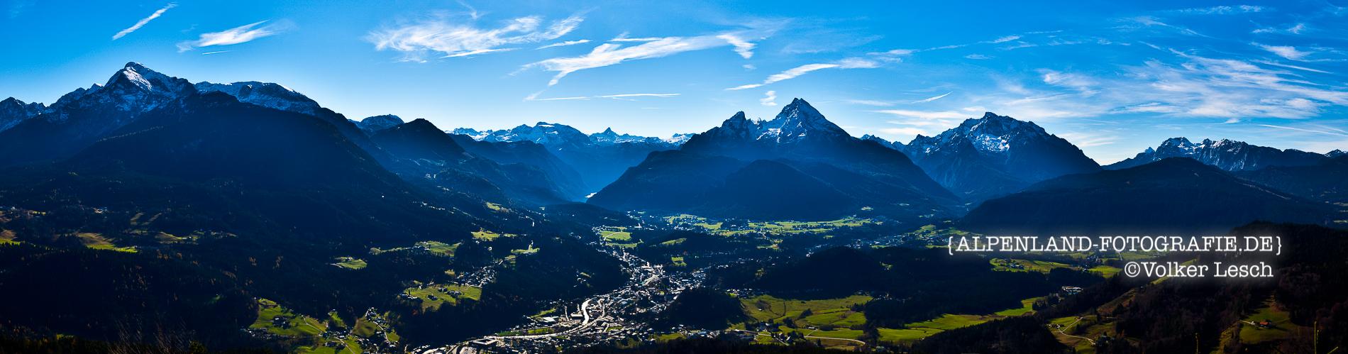 Berchtesgaden Panorama