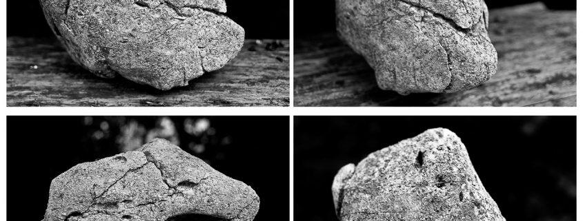 Ein Stein mir vielen Gesichtern