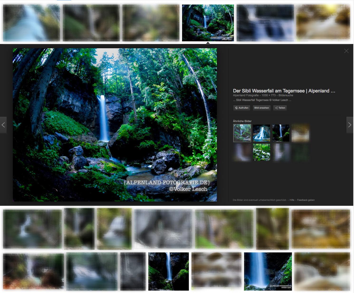 Suchmaschinenoptimierung von Bildern und Fotos
