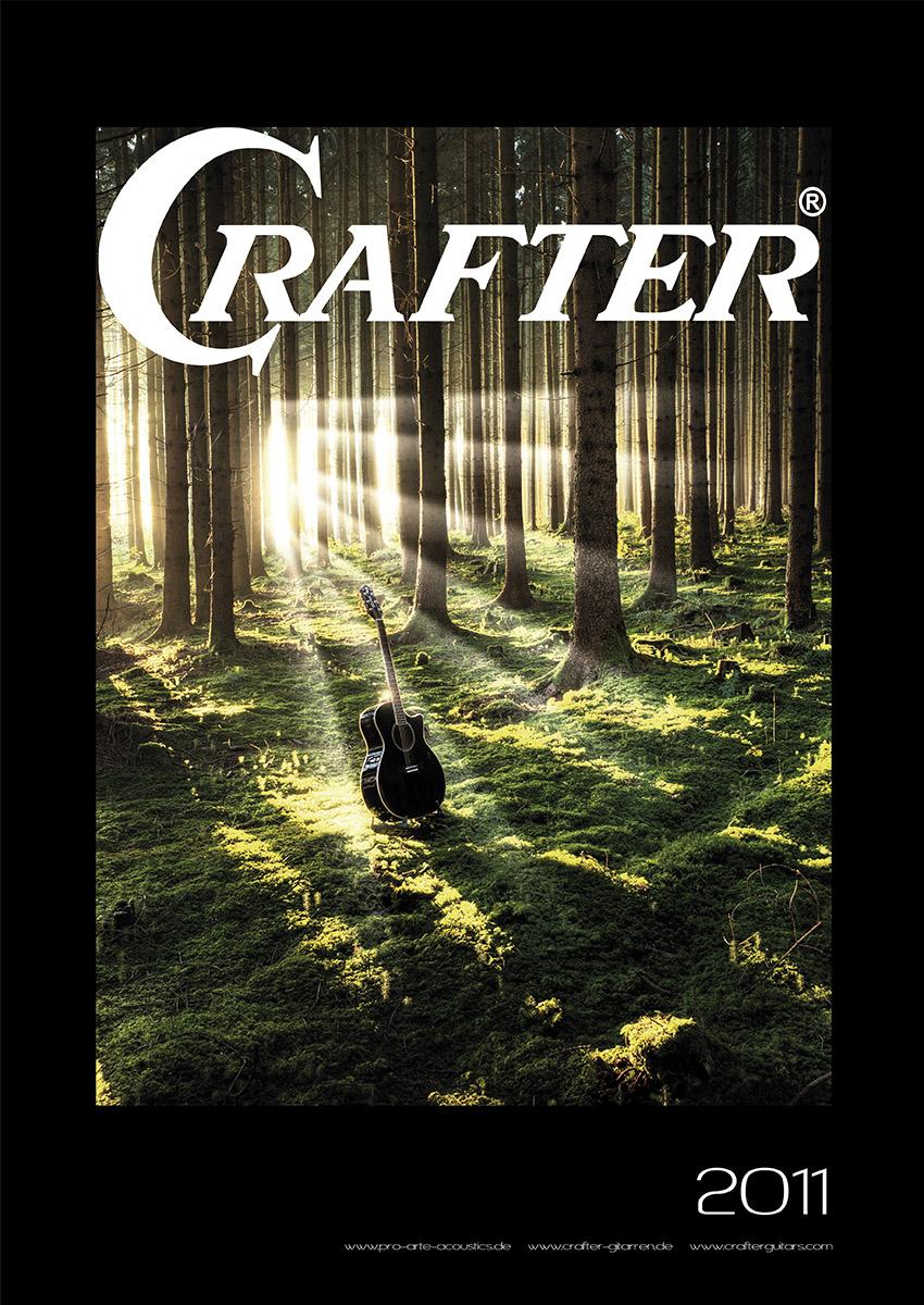 Crafter Westerngitarren Kalender Titelseite