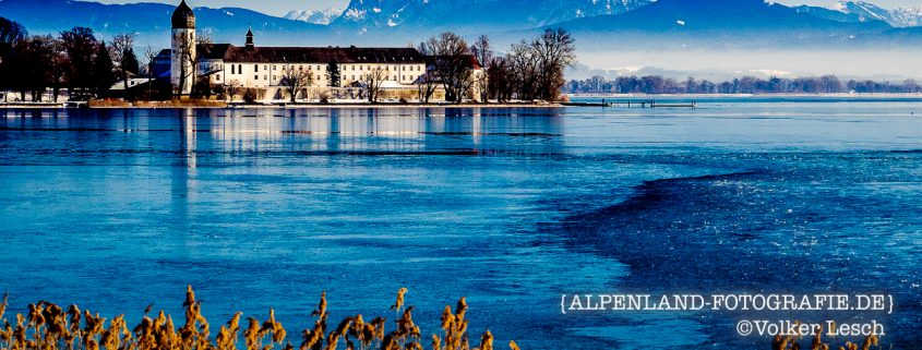 Chiemsee Winter Fraueninsel