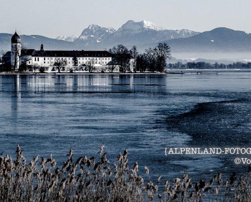Chiemsee Winter Fraueninsel