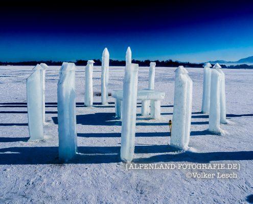 Chiemsee Winter Stonehenge