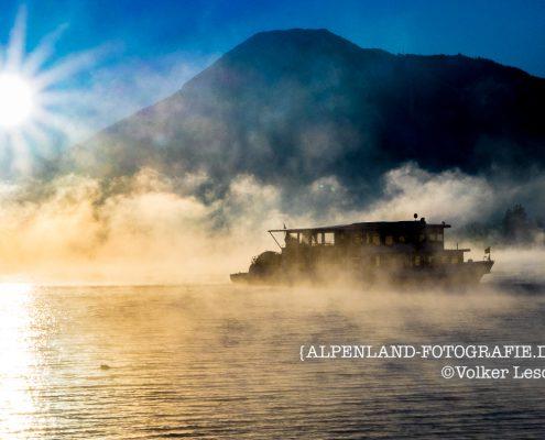 Winter am Tegernsee - Schiff