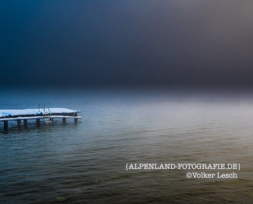 Tegernsee Winter - Nebel
