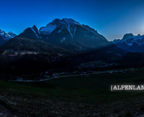 Soleleitungsweg Berchtesgadener Alpen