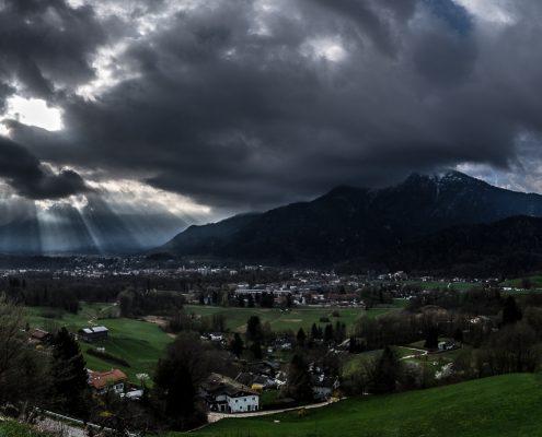 Untersberg Predigtstuhl Panorama © Volker Lesch - Alpenland Fotografie