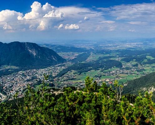 Predigtstuhl, Staufen ,Untersberg und Bad Reichenhall