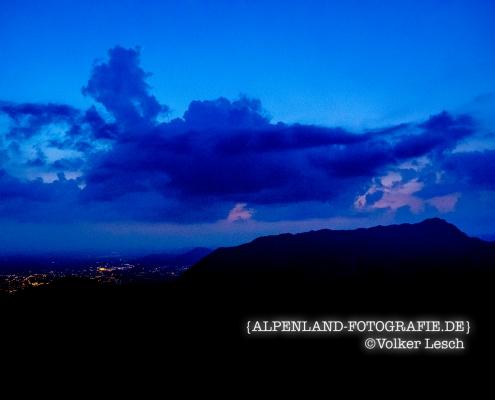 Untersberg Salzburg am Morgen