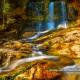 Weissbach Wasserfall Inzell Deutsche Alpenstrasse