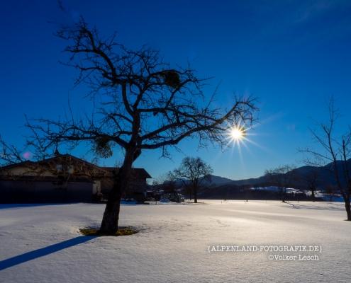 Bergen - Rumgraben Sonnenaufgang © Volker Lesch - Alpenland Fotografie