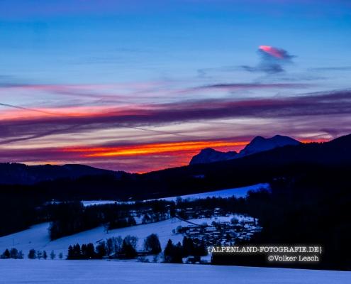 Hochstaufen und Zwiesel © Volker Lesch - Alpenland Fotografie