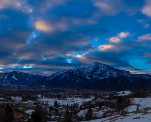 Untersberg und Predigtstuhl 25. Februar - Bad Reichenhall Daily © Volker Lesch - Alpenland Fotografie