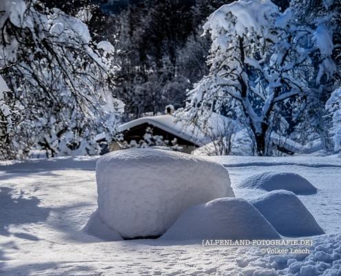 Winter am Mountainfloat Bad Reichenhall © Volker Lesch - Alpenland Fotografie