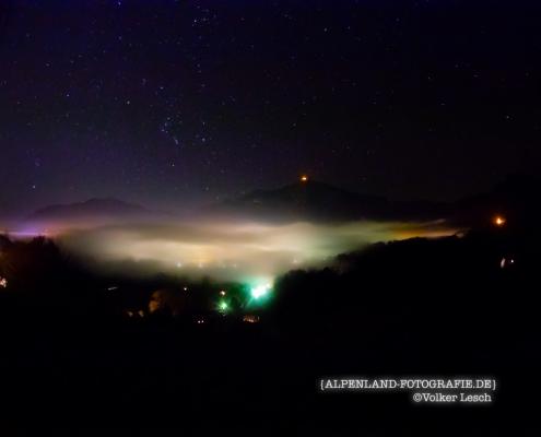 Bad Reichenhall bei Nacht © Volker Lesch - Alpenland Fotografie
