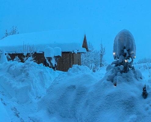 Mountainfloat Bad Reichenhall im Schnee © Volker Lesch - Alpenland Fotografie