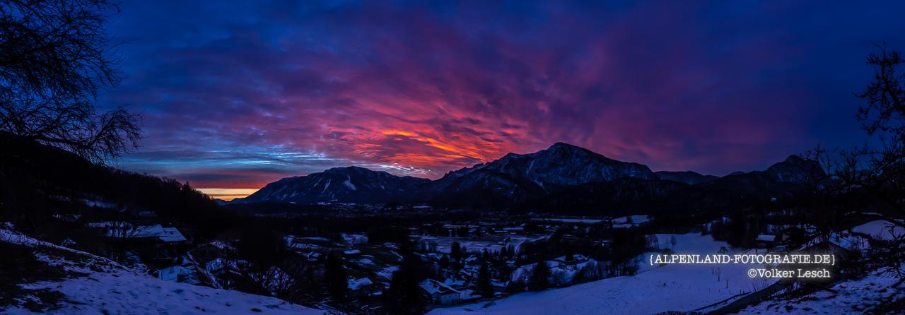 Untersberg und Predigtstuhl 16. Dezember - Bad Reichenhall Daily © Volker Lesch - Alpenland Fotografie