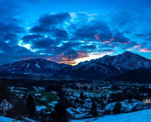 Untersberg und Predigtstuhl 18. Dezember - Bad Reichenhall Daily © Volker Lesch - Alpenland Fotografie
