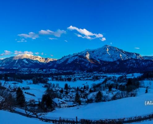 Untersberg und Predigtstuhl 29. Januar - Bad Reichenhall Daily © Volker Lesch - Alpenland Fotografie