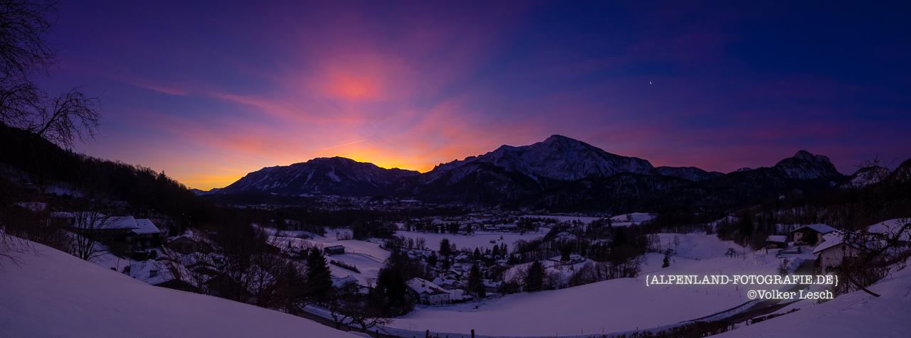 Untersberg und Predigtstuhl 30. Januar - Bad Reichenhall Daily © Volker Lesch - Alpenland Fotografie