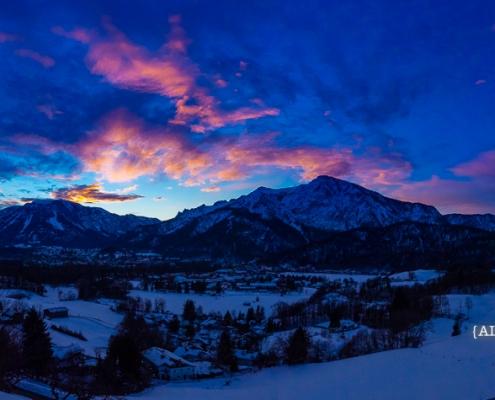 Untersberg und Predigtstuhl 31. Januar - Bad Reichenhall Daily © Volker Lesch - Alpenland Fotografie