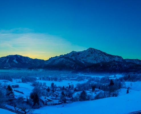 Untersberg und Predigtstuhl 6. Februar - Bad Reichenhall Daily © Volker Lesch - Alpenland Fotografie