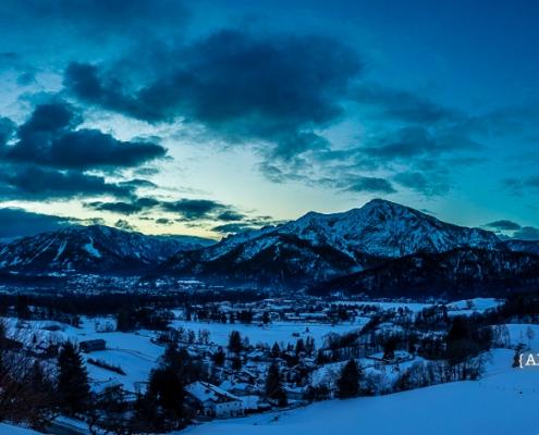 Untersberg und Predigtstuhl 8. Februar - Bad Reichenhall Daily © Volker Lesch - Alpenland Fotografie