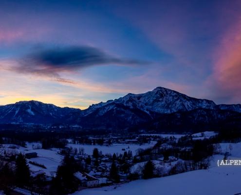 Untersberg und Predigtstuhl 19. Februar - Bad Reichenhall Daily © Volker Lesch - Alpenland Fotografie