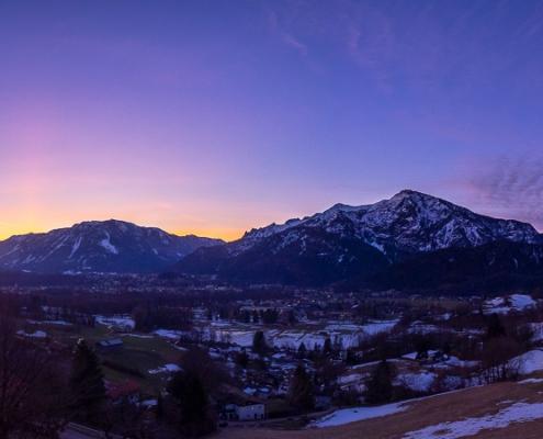Untersberg und Predigtstuhl 27. Februar - Bad Reichenhall Daily © Volker Lesch - Alpenland Fotografie
