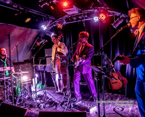 Barflies Legacy im Rockhouse Salzburg - The Songs of Peter Gabriel © Volker Lesch - Alpenland Fotografie