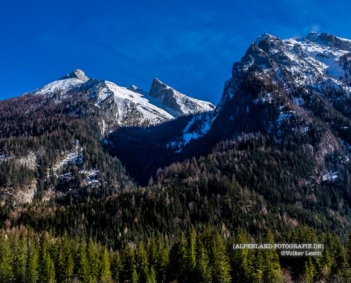 Hochkalter am Hintersee © Volker Lesch - Alpenland Fotografie