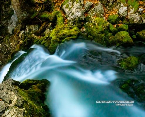 Wasserfall Golling im Salzburger Land © Volker Lesch - Alpenland Fotografie