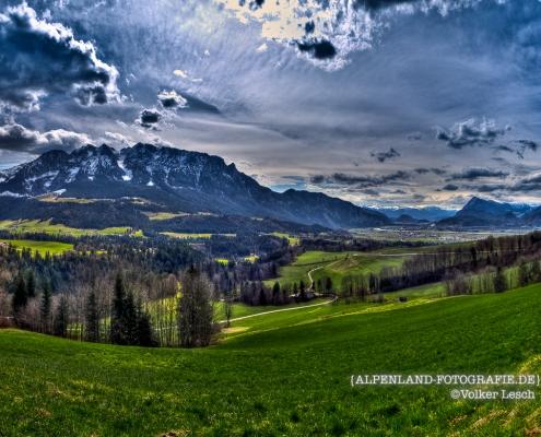 Zahmer Kaiser im Frühling © Volker Lesch - Alpenland Fotografie