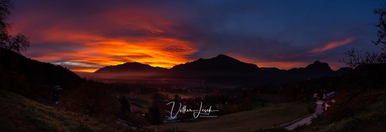 Untersberg, Predigtstuhl, Bad Reichenhall, Sonnenaufgang