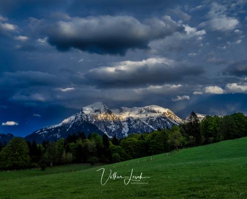 Hoher Göll Berchtesgaden Wetterumschwung