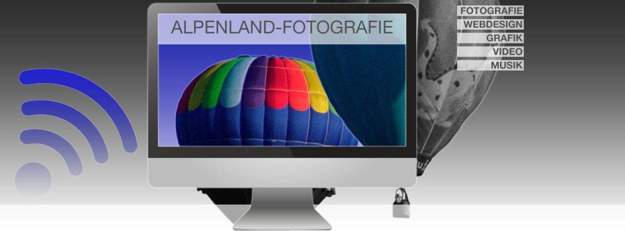 Webdesign - Alpenland Fotografie