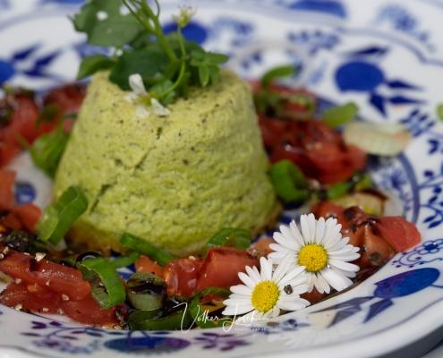 Kochen mit Wildkräutern am Mountainfloat Bad Reichenhall