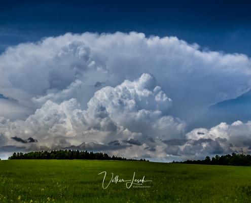 Wolken im Berchtesgadener Land