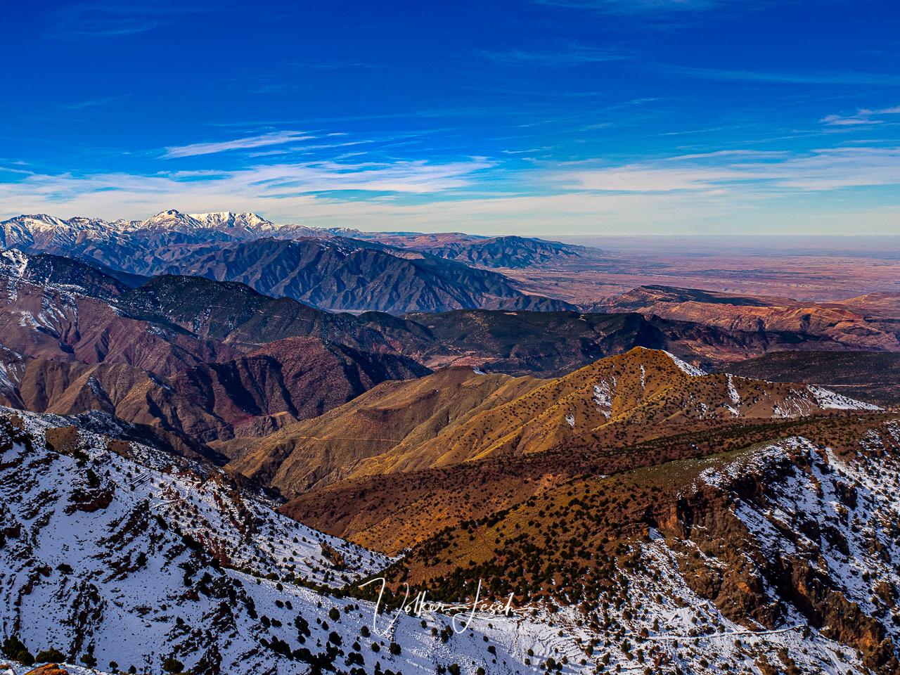 Marokko - Hoher Atlas - Oukaimeden