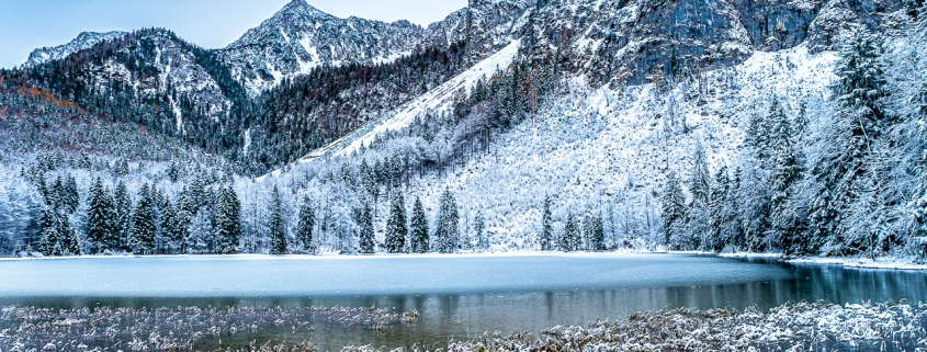 Frillensee Inzell Winter