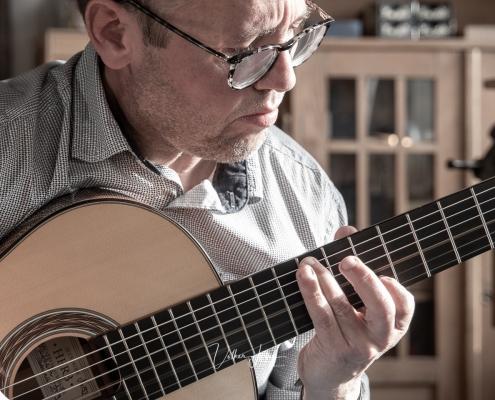 Matthias Rother - Video Gitarrenbau Alexander Herb